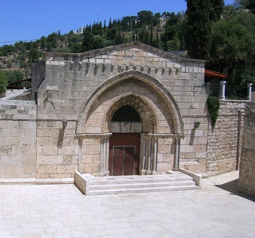 Гетсиманија црква Успења Пресвете Богородице и породична гробница